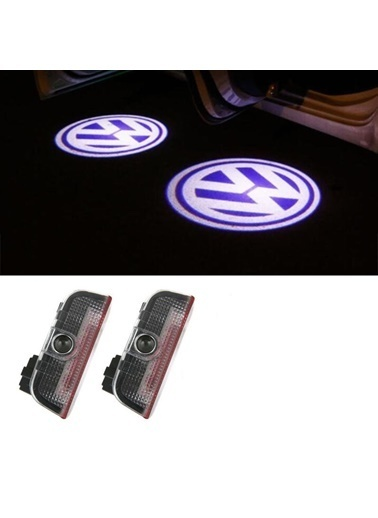 Techmaster Techmaster Volkswagen Golf 7 20122018 Kapı Altı Led Logo Ghost Aydınlatm Renkli
